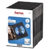 Hama DVD karbid Slim DVD Jewel Case 25tk must