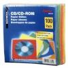 Hama CD/DVD ümbrikud Paper Sleeves (78369) 100tk. värvilised