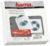Hama CD/DVD ümbrikud Paper Sleeves (62672) 100tk. valge