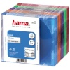 Hama CD karbid Slim Box (51166) 25tk. värvilised
