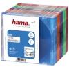 Hama CD karbid Slim Box (51166) 25tk. värvilised