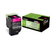 Lexmark tooner taastäidetud 802M (CX310dn / CX310n / CX410de / CX410d/ CX4) 1000lk, magenta