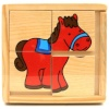 Brimarex puidust pusle Wooden Blocks - Horse ZB-4597