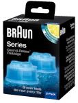 Braun pardli puhastuskassett Clean&Renew CCR2 2tk.