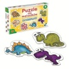 Alexander pusle Dinosaurs for little ones 6x6-osaline