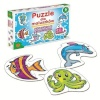 Alexander pusle Underwater puzzle for little ones 6x6-osaline