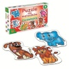 Alexander pusle Puzzles for the little ones Animals 6x6-osaline