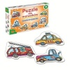 Alexander pusle Cars for little ones 6x6-osaline