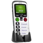 Doro mobiiltelefon Secure 580 must/valge ENG