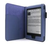 C-Tech kaitsekest Case for Kindle 6 TOUCH with Wake/Sleep function, sinine