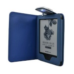C-Tech kaitsekest Case for Amazon Kindle 6 TOUCH with compact light, sinine
