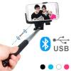 Bluetooth Selfie Statiivpulk Valge