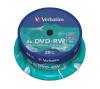 Verbatim toorikud 1x25 DVD-RW 4,7GB 4x Speed, matt silver