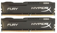 HyperX mälu FURY Black 8GB DDR4 (2x4GB) 2666MHz CL15