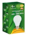 ART LED-pirn E27, 5W, 40xSMD3014, AC230V, 350lm Warm White