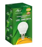 ART LED-pirn E14, 3W, 24xSMD3014, AC230V, 200lm Warm White