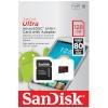 SanDisk mälukaart microSDXC Ultra 128GB 80MB/s + SD adapter
