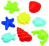 Ecoiffier liivavormid mereloomad 8tk.
