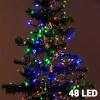 Christmas Planet Värvilised Jõulutuled (48 LED)