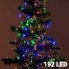 Christmas Planet Värvilised Jõulutuled (192 LED)