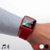 Bitblin nutikell Smartwatch BT110 Audiofunktsiooniga valge