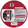 Metabo lõikekettad INOX 125x1,0x22 A60R, metallkarbis 10tk