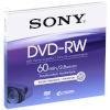 Sony toorik 8cm DVD-RW 2,8GB 2x Speed, 60 min, Jewel Case DMW60AJ