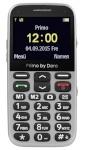 Doro mobiiltelefon Primo 366 hõbedane ENG