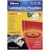 Fellowes lamineerimiskile Matt laminating pouches 125 micron A4 100-pakk