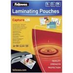Fellowes lamineerimiskile Peel and stick pouches adhesive back, 125 micron, A3