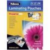 Fellowes lamineerimiskile A4 Glossy 250 Micron Laminating Pouch - 100 pakk