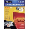 Fellowes lamineerimiskile Glossy 125 Micron Card Laminating Pouch 83x113 mm