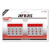Arcas patareid Alkaline 1,5V LR6/AA, 8(4+4) pakk