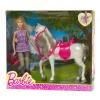 Barbie nukk hobusega