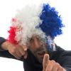 Afro Parukas Prantsusmaa Lipp