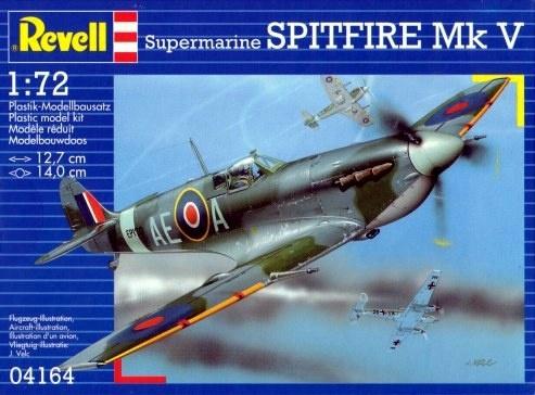 a4dab46acb7 Revell Spitfire Mk V b - Sõidukid ja mudelid - Lapsed - Digizone