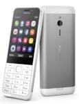 Nokia mobiiltelefon 230 Dual SIM Silver EST