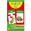Adamigo pusle G-6120 Inglise keelsed sõnad piltidega (puu- ja köögiviljad) 60-osaline