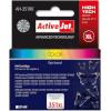 Activejet tindikassett AH-351RX (HP 351XL CB338EE) Tri-Colour Ink Cartridge, Cyan, Magenta, kollane