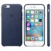 Apple kaitsekest iPhone 6S Leather kaitsekest tume sinine