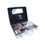 2K Beauty Unlimited Train Case Complete Makeup Palette, naistele