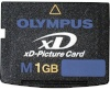 Olympus mälukaart XD 1GB