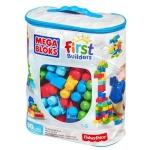 Mega Bloks klotsid Blocks 80 tk. torba sinine