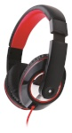 Gembird MHS-BOS Stereo headset Boston 3.5mm (1/8 inch), Headband/On-Ear, Microphone, Black, Yes, No
