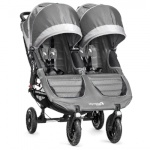 Baby Jogger jalutuskäru City Mini Double GT Steel Gray