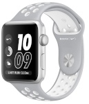 Apple nutikell Watch Series 2 Nike+ 38mm Silver Aluminium Case with Flat Silver/White Nike Sport Band