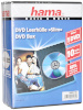 Hama dvd-karbid Slim DVD Jewel Case, must 10-pakk