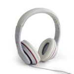 """Gembird MHS-LAX-W Stereo headset """"Los Angeles"""" 3.5mm (1/8 inch), Headband, Microphone, 3.5 mm, White, No, No, White"""