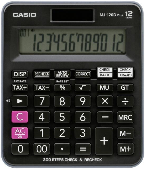 8fc65ee5427 Casio kalkulaator MJ-120D Plus - Koolitarbed - Lapsed - Digizone
