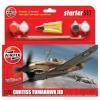 Airfix Curtiss Tomahawk II b Starter Set